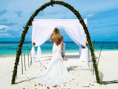 Свадебная церемония на Мальдивских островах