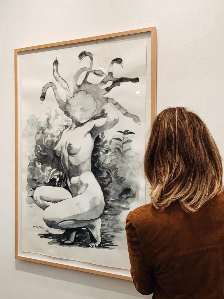 Ярскарка Frieze в Лондоне, эспонаты