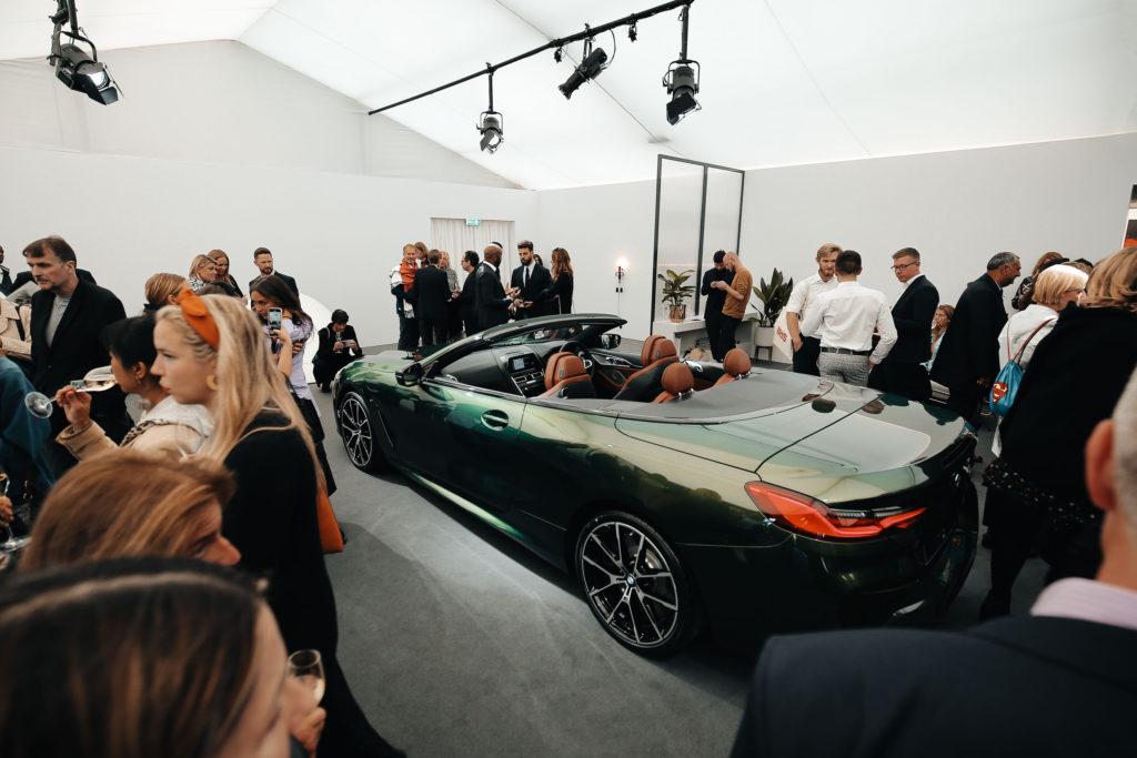 BMW Frieze в Лондоне, эспонаты